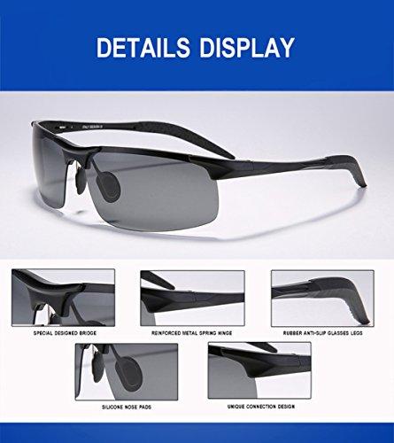 21c2d44d7f0 wearPro Men`s Sports Polarized Driving Sunglasses for Men Al-Mg ...