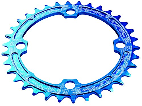 Road Race Chain - Race Face 104mm Single Chain Ring, Blue, 32T 9/10/11 Speed
