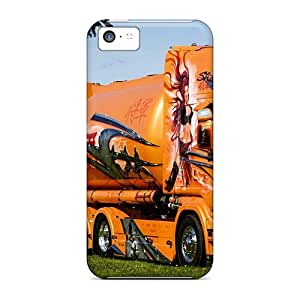 FkIuUMm486ZsEQh Tpu Phone Case With Fashionable Look For Iphone 5c - Shogun Truck