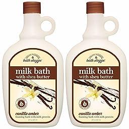 Village Naturals Bath Shoppe Vanilla Foaming Milk Bath 28oz (2)