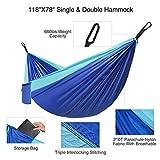 FIDENACK Camping Hammock Double Travel Hammocks