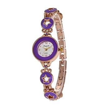 ZHANGZZ Bonito Reloj CHAOYADA, Pentacle Bracelet Lady Watch ...