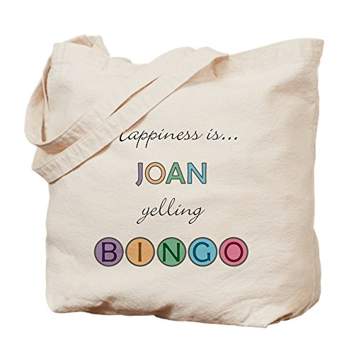 CafePress - Joan BINGO - Natural Canvas Tote Bag, Cloth Shopping Bag by CafePress