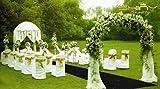 ShinyBeauty Black-Aisle Runner-50FTX4FT,Sparkle Sequin Fabric Wedding Carpet, Glitter Ceremony Event Aisle Runner (Black)