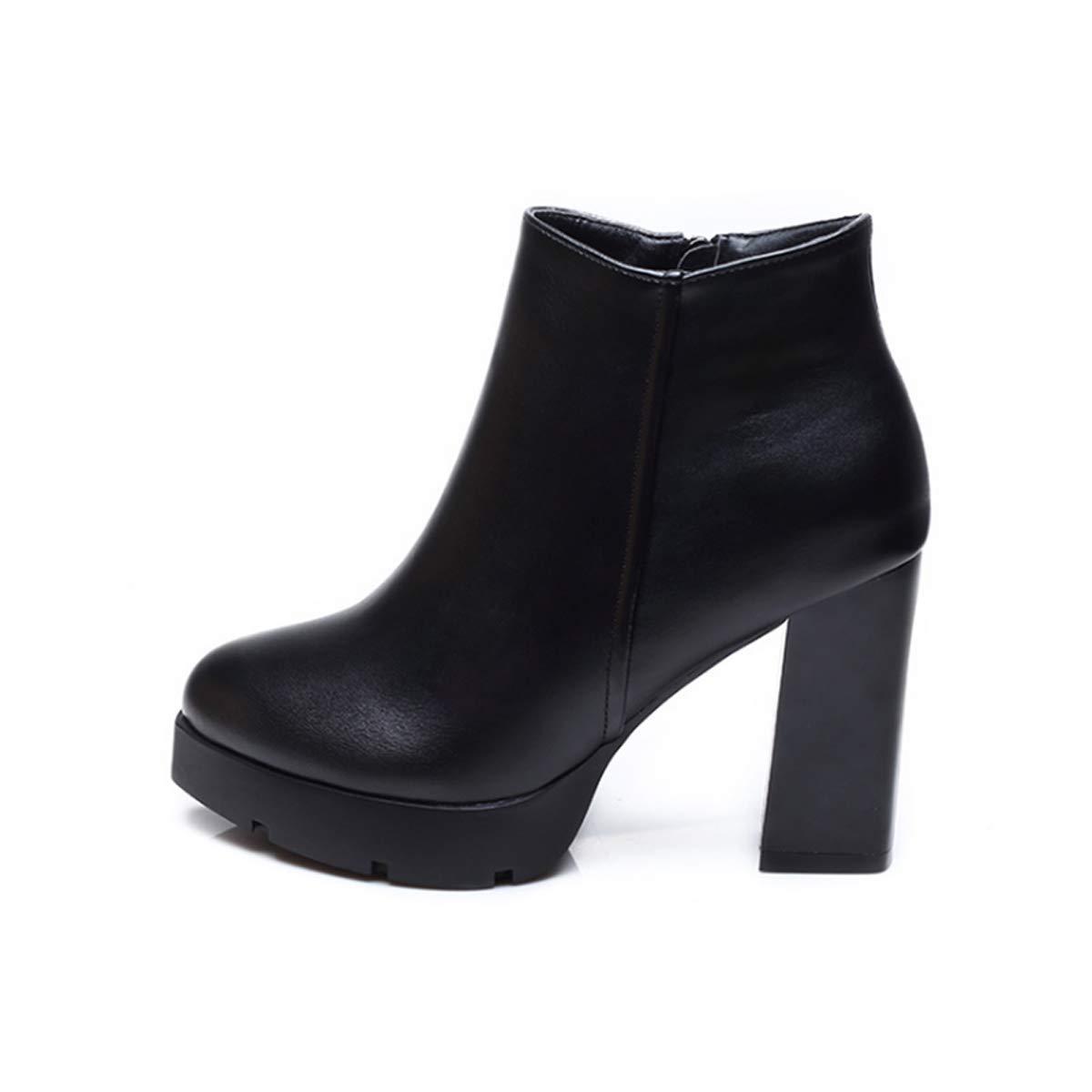 HBDLH Damenschuhe/Martin Stiefel, Meine Damen, High Heels, Kurze Stiefel, Mit Stiefeln, Damen - Stiefel und Stiefeletten, Damen - Schuhe 9Cm
