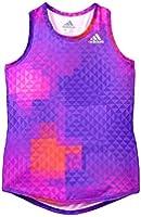 Adidas Printed Power Tank, Purple Print, 4T