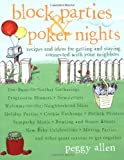 Block Parties and Poker Nights, Peg Allen, 0609807889