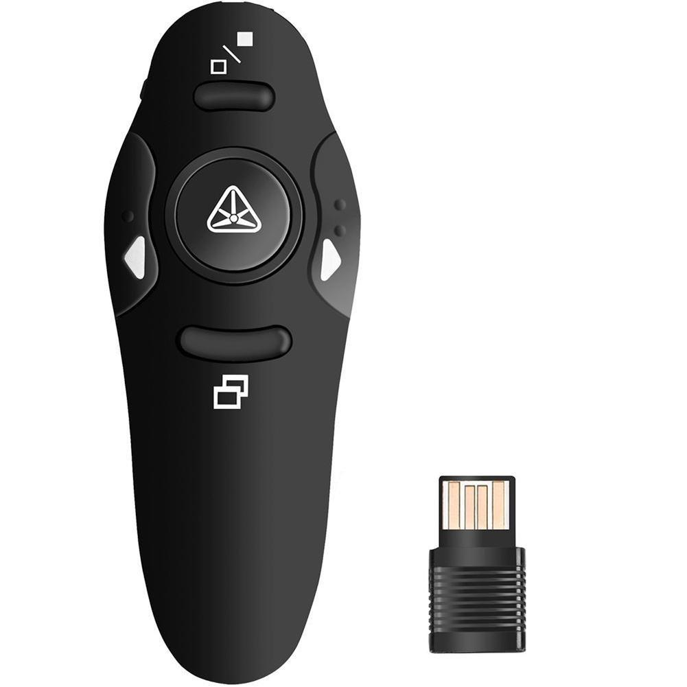 Flip Pen 2.4GHz Wireless USB Presentazione PowerPoint Puntatori PPT Clicker Presenter Puntatore laser remoto Clicker Flip Pen Wintesty
