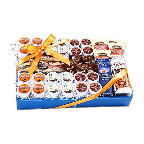Alder Creek K-Cup Lovers Gift Basket - (Original from manufacturer - Bulk Discount available)