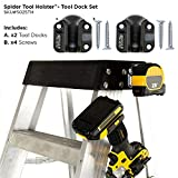 Spider Tool Holster - Tool Dock Set - PACK OF TWO - Securely hold your tools and organize your