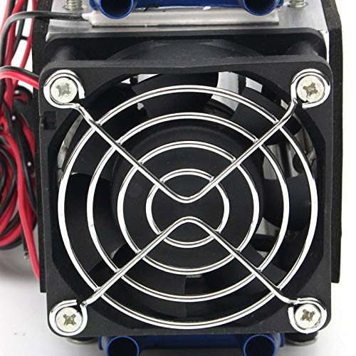 TEC-12706 DIY Electronic Semiconductor Refrigeration Radiator for Air Conditioner Equipment Thermoelectric Cooling System Kit