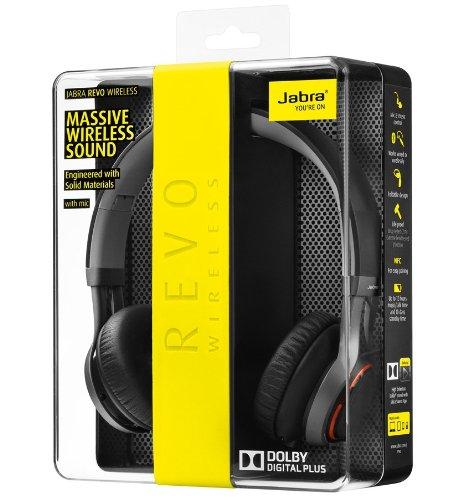Jabra Revo Wireless Bluetooth Stereo Headphones Retail