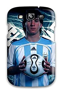 Tpu Case Cover For Galaxy S3 Strong Protect Case - Lionel Messi T Shirt Design