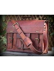 Hlc 11 Leather Messenger I Pad Leather Satchel Shoulder Bag Ipad Leather Tablet Bag