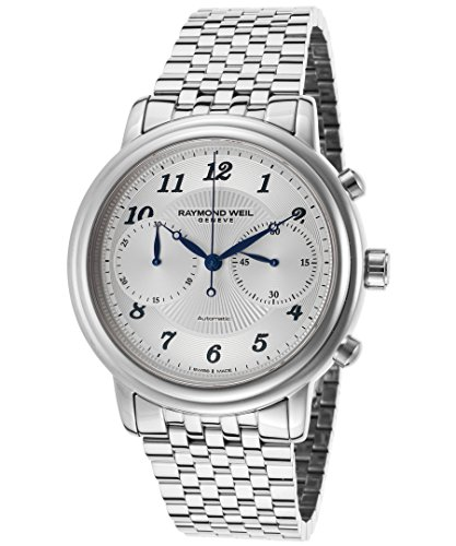 Raymond Weil Men's Maestro Chronograph Stainless Steel Watch - Silver