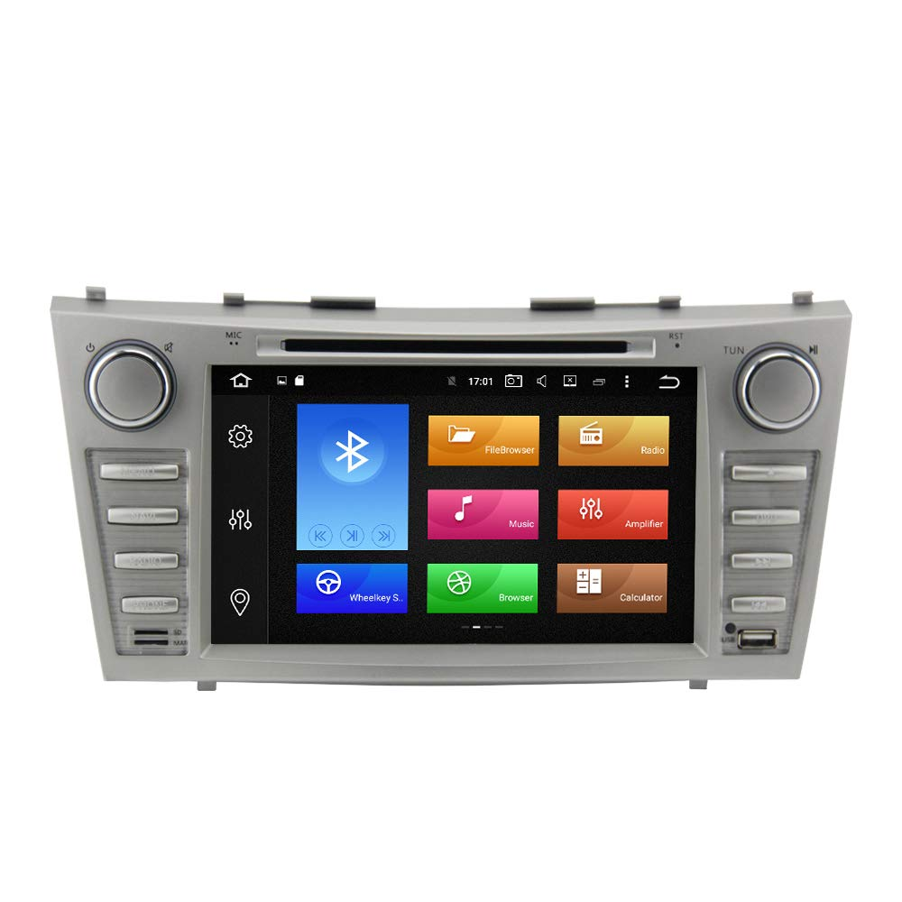 QSICISL Android 8.1 Car Head Unit Stereo 7 Inch Touch Screen 2GB RAM 16GB ROM in Dash Vehicle GPS Player for Toyota Camry 2007 2008 2009 2010 2011 2 DIN Car Stereo with Bluetooth FM AM