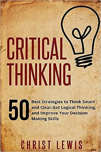 books on critical thinking quora
