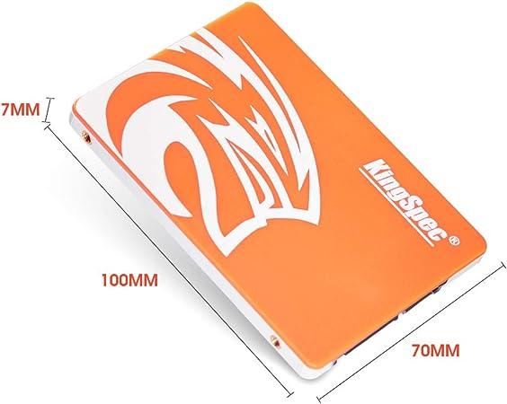 Kingspec P3-256 Disco Duro sólido (256 GB, Serial ATA III, 550 MB ...