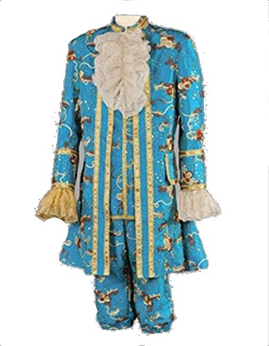 Deluxe King of France Louis 16th Theatrical Quality Costume (Large, (Louis The 16th Costume)