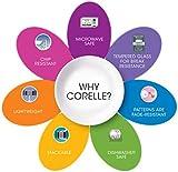 10 inch corelle plates - Corelle Blue Snowflake Dinner Plate 10 inch, Corelle Livingware Blue Snowflake