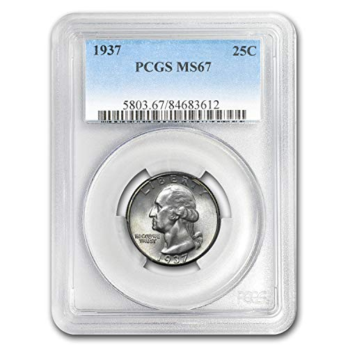 1937 Washington Quarter MS-67 PCGS Quarter MS-67 PCGS