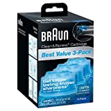 Braun Series 7 Cleaning Base - NEW Braun Series 3 5 7 CCR3 Shaver Clean & Renew Refills CONTAINS 3-Pack Men