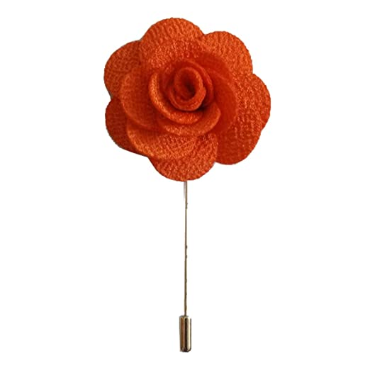 8023678c995 Sunny Home Men's Lapel Flower Stick Brooch Pin Boutonniere Pin for Suit  Tuxedo Corsage (3.74