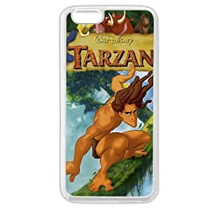 Diy White Soft Hard(PC) Disney Cartoon Tarzan Diy For Iphone 5/5s Case Cover Only fit Diy For Iphone 5/5s Case Cover