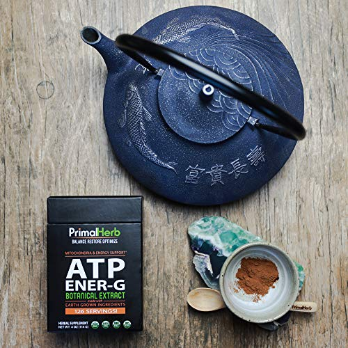 ATP Cofactors, Mitochondria Supplement | Natural Energy Tea | by