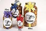 Nams Bits Chocolate Chip Cookies Glass 5oz Jar - Happy Fall