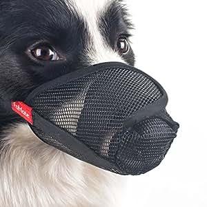 Amazon.com : Dog muzzle, Gentle mesh anti licking quickly