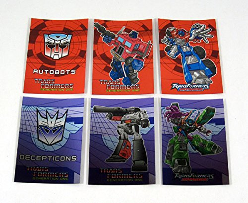 2002 Cards Inc Transformers Generation One Preview Set (6) Nm/Mt (Trading Card Preview)