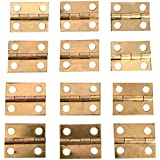 HOODDEAL 30pcs Mini Cabinet Drawer Butt Hinges Multifuction Accessories