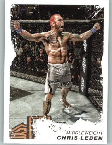 Ultimate Fighting Championship Mixed Martial Arts 2011 Topps UFC Moment of Truth MMA Trading Card #12 Chris Leben