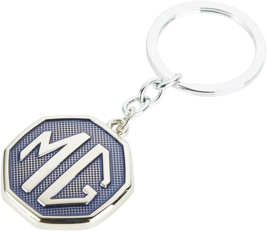 MG Motor Official Badge Logo Keyring Green//Black//Blue//RedKeychain Keyring