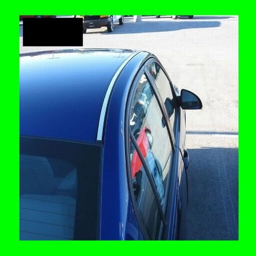 312 Motoring fits 2005-2007 MERCURY MONTEGO CHROME ROOF TRIM MOLDINGS 2PC 2006 05 06 07