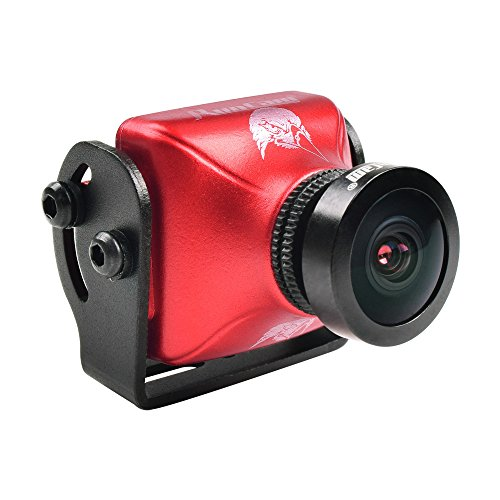 FPV Camera RunCam Eagle 2 800TVL 16:9 5-36V FOV Global WDR 2.5mm Lens Aluminium NTSC PAL True Starlight For Drone Quadcopter (Red)