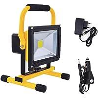 Foco LED Portátil Exterior Recargable AC85-260V Proyector LED