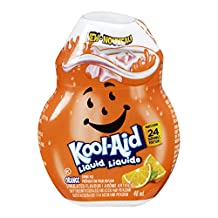 KOOL-AID Liquid Drink Mix, Orange, 48ml