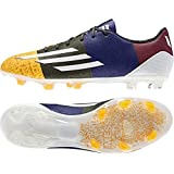 F30 FG Messi - Chaussures de Foot Or Solaire/Blanc/Vert Terrre - taille 11