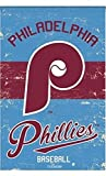 Rico Industries, Inc. Philadelphia Phillies EG Vintage GARDEN Flag Premium 2-sided Retro Banner Baseball Review
