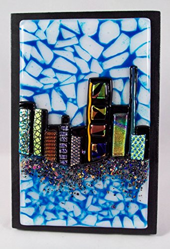 Fused Glass Art - fused glass home decor