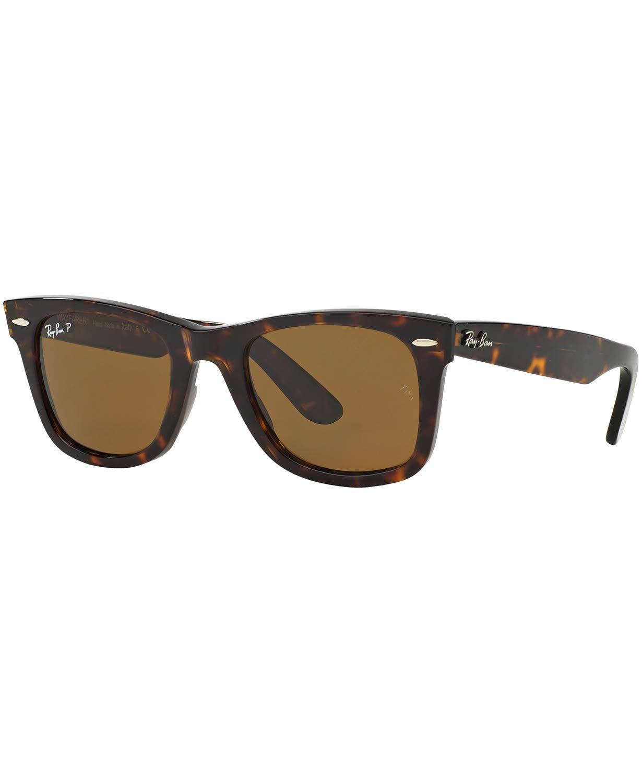 Ray-Ban-Original-Wayfarer-Sunglasses-RB2140-50-BrownBrown-Acetate-Polarized-50mm