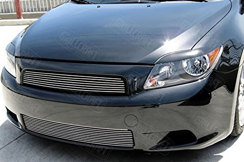 - Grillcraft TOY1870-BAO BG Series Polished Aluminum Upper 1pc Billet Grill Grille Insert for Scion TC