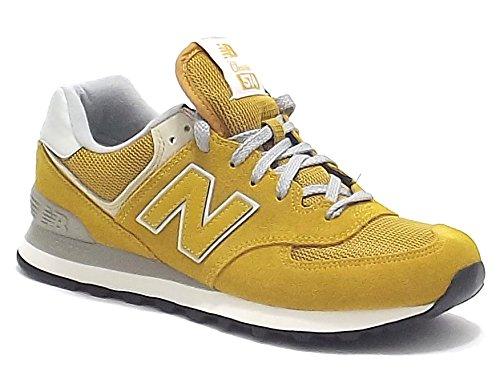 New Balance scarpe uomo, modello 574,sneakers in camoscio e