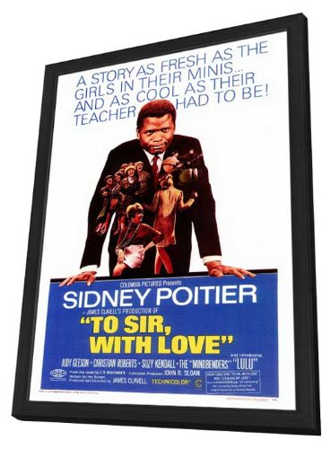 To Sir With Love - 27 x 40 Framed Movie Poster