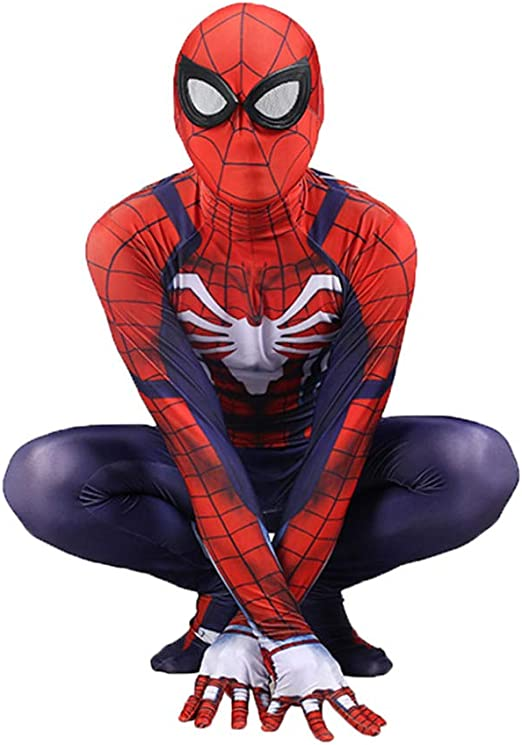PIAOL Juego De PS4 Traje De Spiderman Cosplay Medias Siamesas De ...