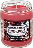 Smoke Odor Exterminator 13oz Jar Candle, Dragon's Blood, 13 oz
