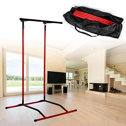 Load-bearing 150KG Indoor Fitness Pull-Ups Horizontal Bars Pull Up Bar Home Fitness Equipment Parallel Bars Portable Fitness Equipment 60-100 cm Telescopic Pull-Ups