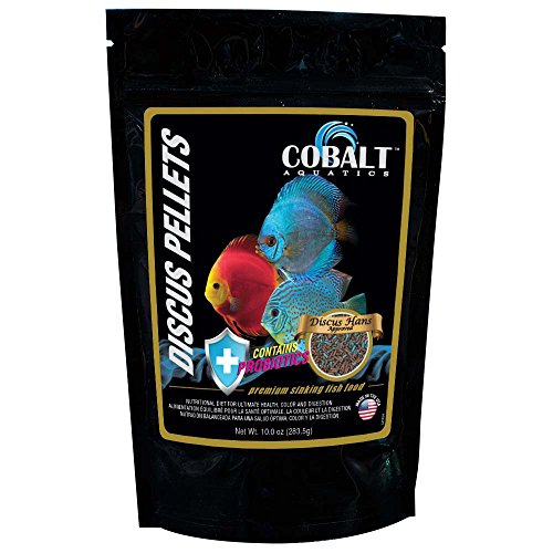 Cobalt Aquatics 10 oz Discus Hans Pellet Fish Food